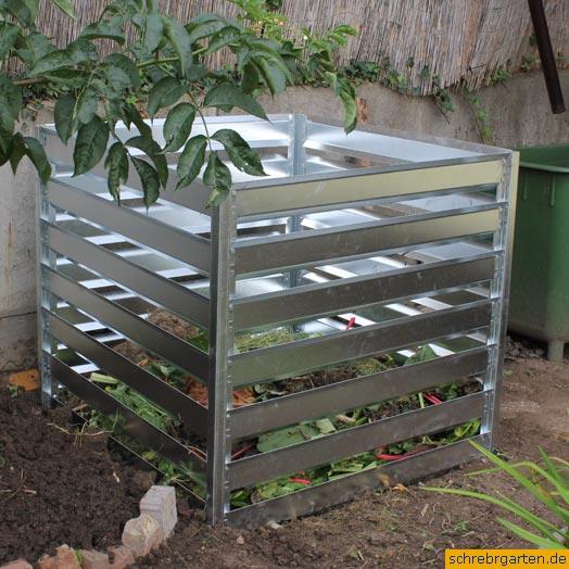 metall komposter. Black Bedroom Furniture Sets. Home Design Ideas